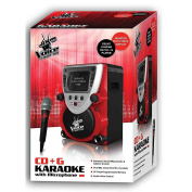The Voice Full Size Karaoke Machine with Built in Screen