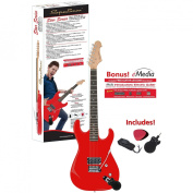 Spectrum AIL 51R Star Series Solid Body Full Size High Gloss Red Electric Guitar