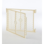North States Superyard Ultimate Play Yard Two Panel Extension, Ivory
