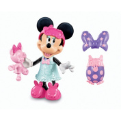 Fisher-Price Minne Mouse Bow-Tique Playset - Minnie's Sleep Over Bow-tique