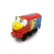 Chuggington Wooden Railway Engine - Parrot Wilson