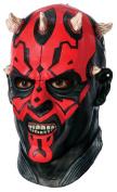 Star Wars Darth Maul Latex Overhead Mask - Tween Size