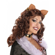 Monster High Clawdeen Wolf Wig Adult Halloween Accessory