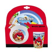 Angry Birds 3-Piece Melamine Tableware