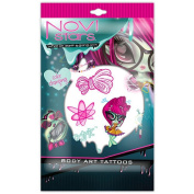 Novi Star Body Decals - Colour Changing