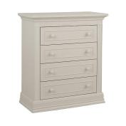 Baby Cache Montana 4-Drawer Dresser - Glazed White