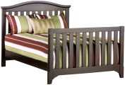 Child Craft Hawthorne Full Bed Rails for Lifetime Convertible Crib, Espresso