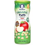 Gerber Organic Puffs - Apple