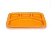Green Eats Divided Tray - 1 Tray Per Sales Unit - Orange