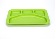 Green Eats Divided Tray - 1 Tray Per Sales Unit - Green