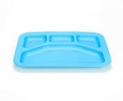 Green Eats Divided Tray - 1 Tray Per Sales Unit - Blue