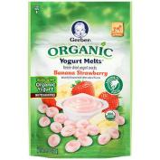 Gerber Organic Yoghurt Melts - Strawberry Bannana
