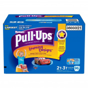 Pull-Ups Potty Training Pants with Learning Designs for Boys 2T-3T - 96CT