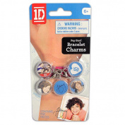 1D Braided Pop Band And Charms - Harry