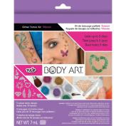 Tulip Body Art Glitter Tattoo Kit - Vibrant
