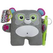 Inkoos Mini Plush Panda with Markers - Grey