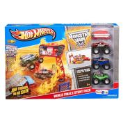 Exclusive Hot Wheels Monster Jam Stunt Stadium Build Up