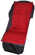 Tivoli Couture Memory Foam Stroller Liner - Ruby Red