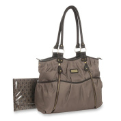 Carter's Double Zip Nappy Bag - Taupe