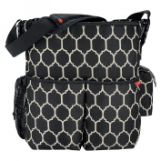 Skip Hop Duo Essential Diaper Bag Onyx