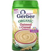 Gerber Organic Single Grain Cereal - Oatmeal
