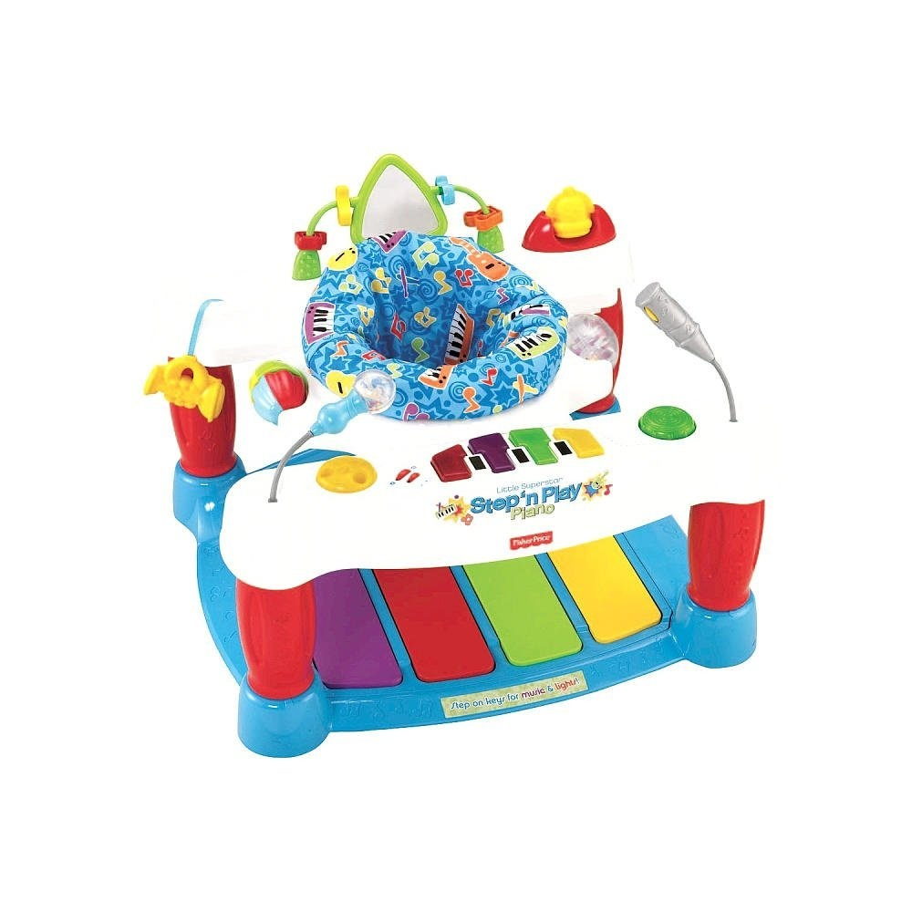 10b0323fd Fisher-Price Little Superstar Step  n Play Piano Walker by Fisher ...