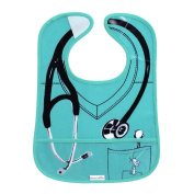 Doctor Easy Wipe Bib - Green