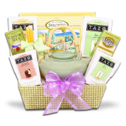 Easter Basket-Zen Tea Tray Gift Basket
