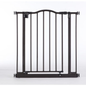 North States Supergate Portico Arch Gate, Matte Bronze