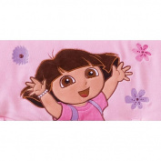 Trend Lab Nickelodeon CribWrap Wide Rail Cover for Crib Front/Back, Dora the Explorer Exploring the Wild