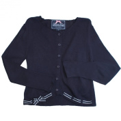 French Toast Sweater With Ribbon Trim - Navy