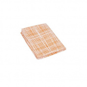 Organic Fitted Crib Sheet - Plaid
