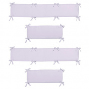 Sweet Jojo Designs Purple Dragonfly Dreams Collection Crib Bumper