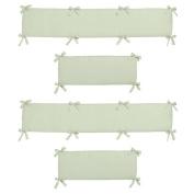 Sweet Jojo Designs Green Dragonfly Dreams Collection Crib Bumper