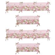 Sweet Jojo Designs Camo Pink Collection Crib Bumper