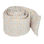 Organic Crib Bumper - Dots