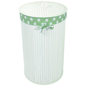 Redmon Nursery Bamboo Hamper - White