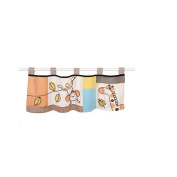 Sumersault Animal Patch Window Valance