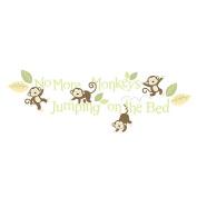 BabyShop By Design Monkey Wall Decals