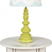 Living Textiles Lolli Living Lamp Base - Green Spindle