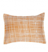 Organic Boudoir Pillow - Plaid