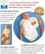 Snug & Tug Adjustable Swaddling Blanket - Rainbow Love - Preemie