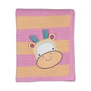 Living Textiles Baby Character Crinkle Blanket - Gigi Giraffe