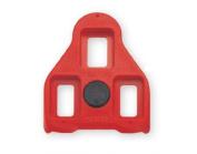 Exustar Red 9 Degree Float Look Delta Compatible Cleats