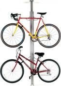 Gear Up Floor to Ceiling Aluminium Bike Rack Silver