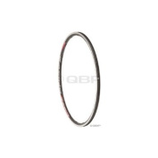 Fulcrum Road Front Rim for Racing O Clincher Black