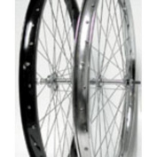 Wheel Master Front Bicycle Wheel 24 x 1.75 36H, Steel, Bolt On, Silver