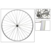 Wheel Front 27 x 1-1/4 Alloy Rim, Silver, 36H, Schrader