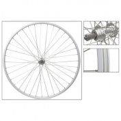 Wheel Rear 27 x 1-1/4 Silver 36H