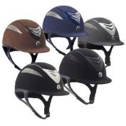 One K Defender Suede Helmet Black Matte, Small